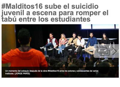 20 MINUTOS: #malditos16